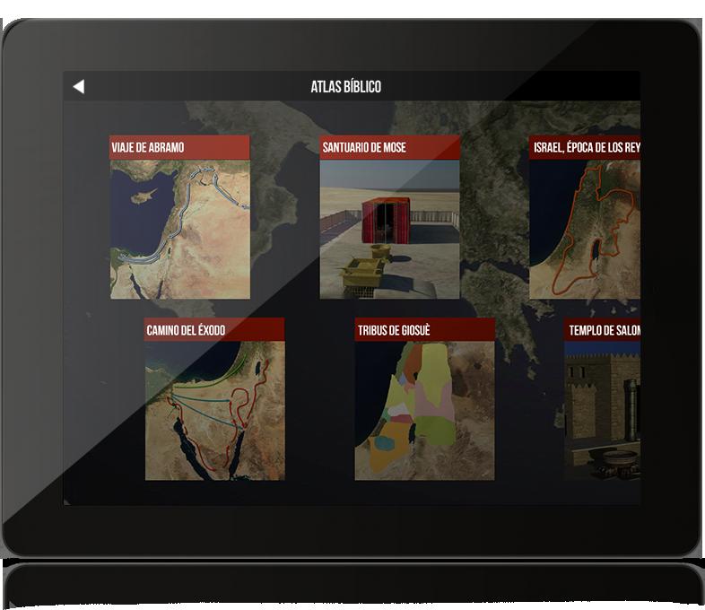 BibleWorld – Atlas de la Biblia