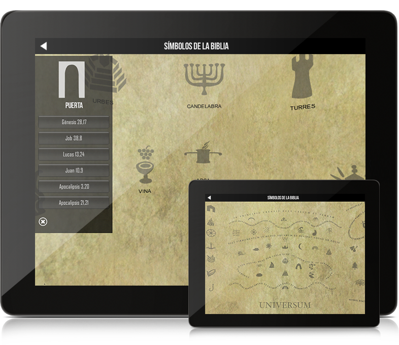 BibleWorld - Simbolos
